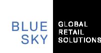 blue sky logo white